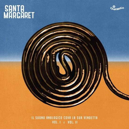 """Santa Margaret - """"Il Suono Analogico Cova la sua Vendetta, Vol. 1 & 2"""" - REC/MIX"""