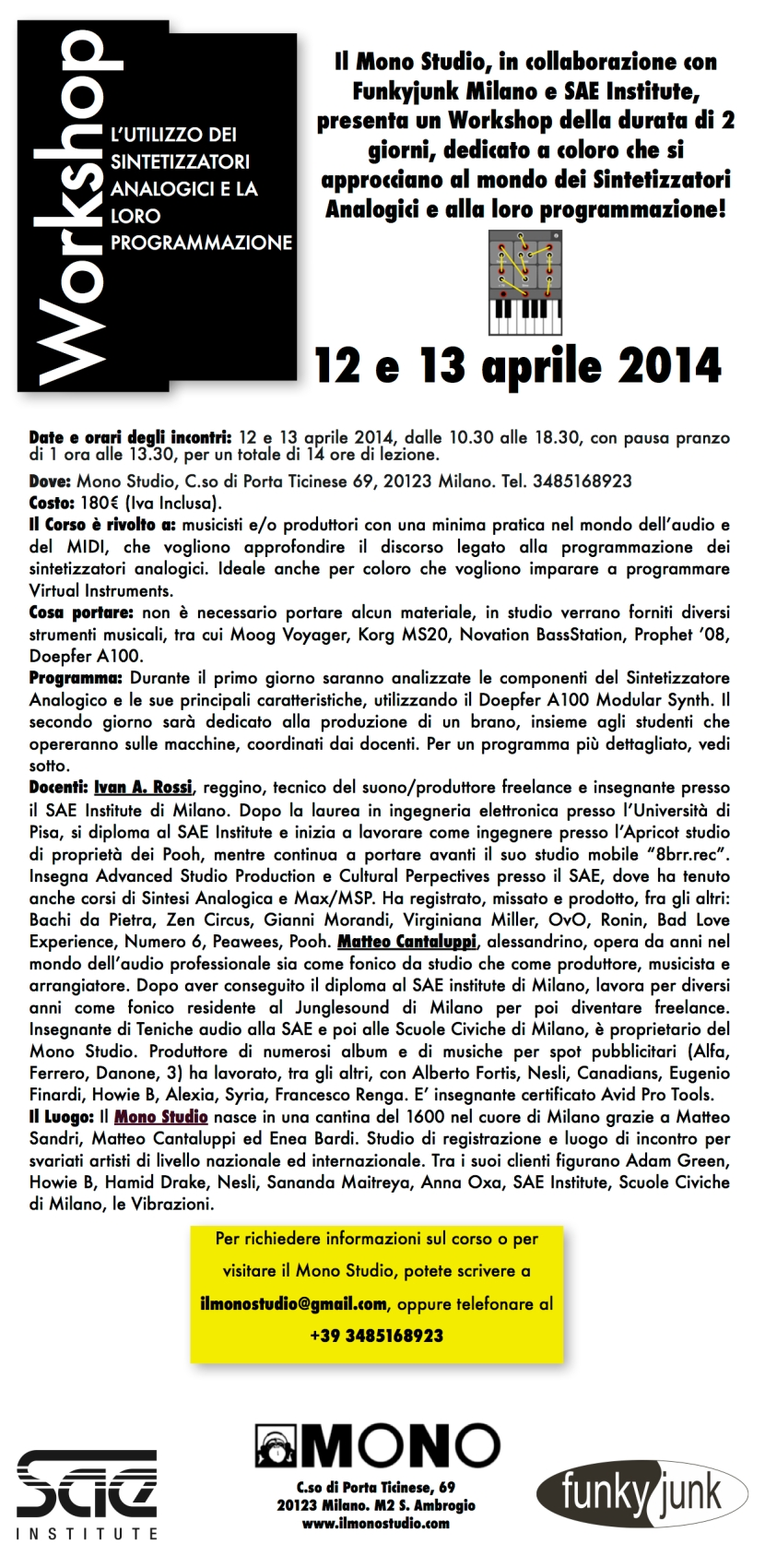 Grafica Sintesi Analogica Pagina 1