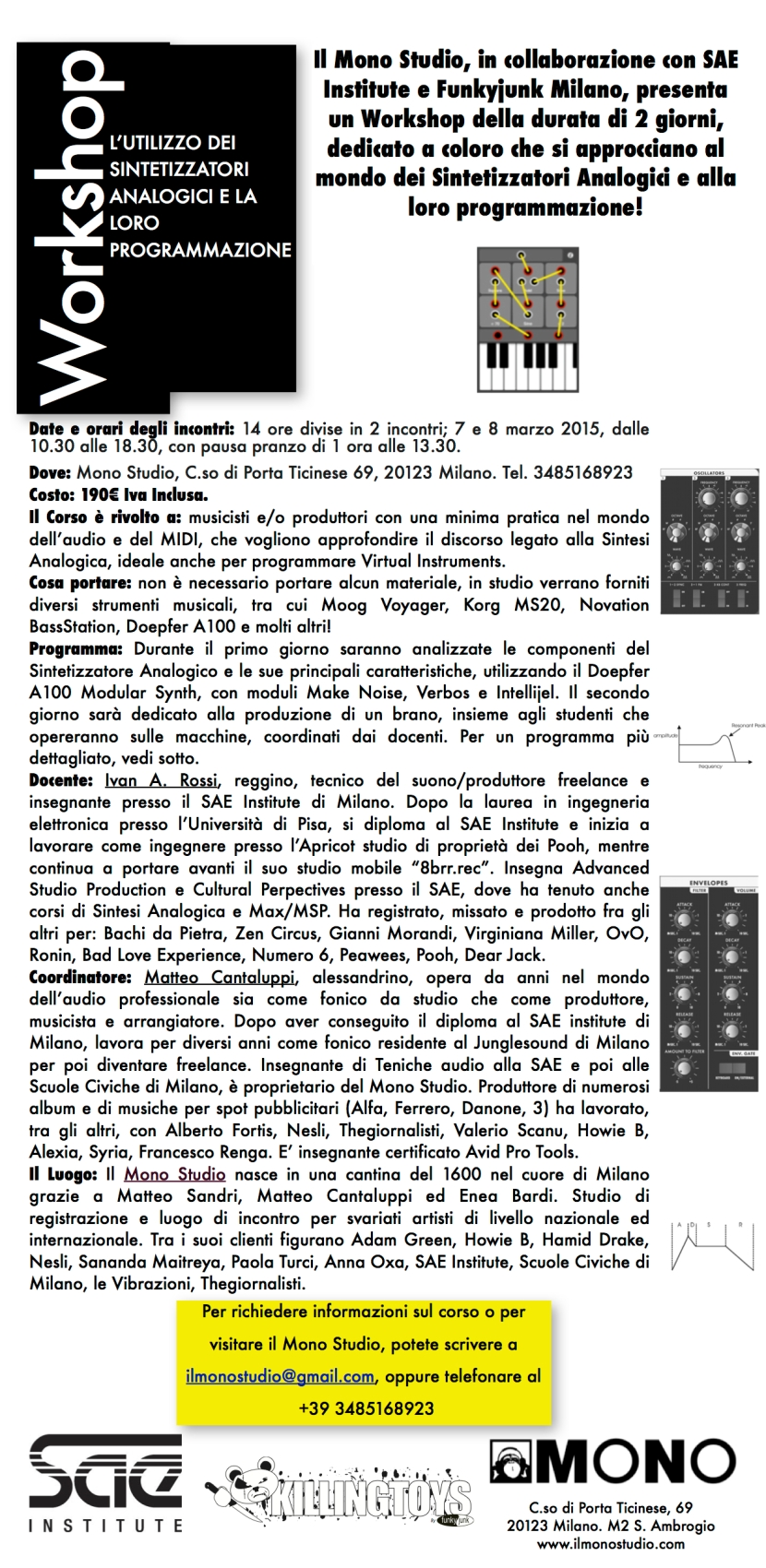 Grafica Sintesi Analogica marzo 2015 Pagina 1