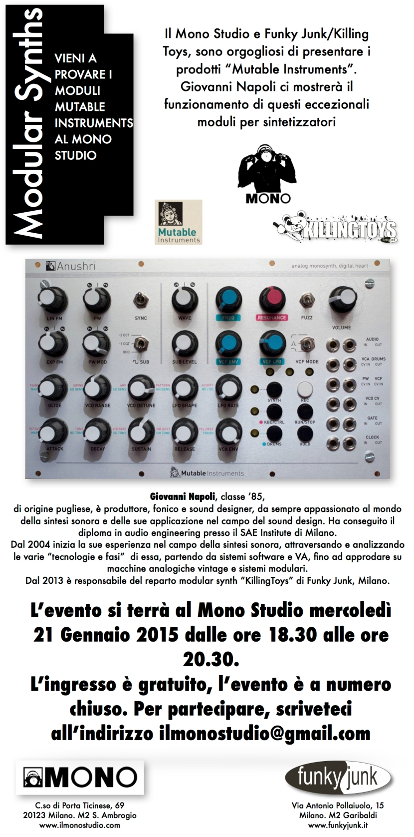 Lecture Mutable Instruments